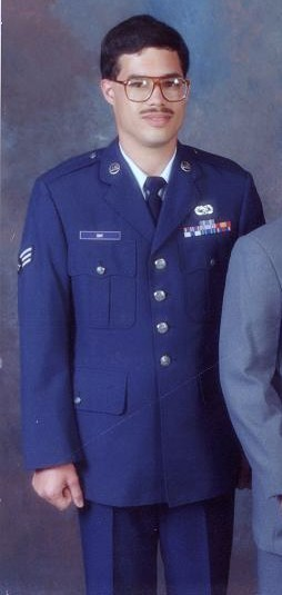 USAF SGT Me In August 1991