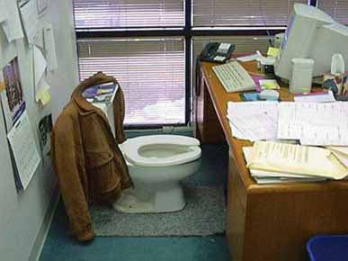 The Most Convenient Office Ever !