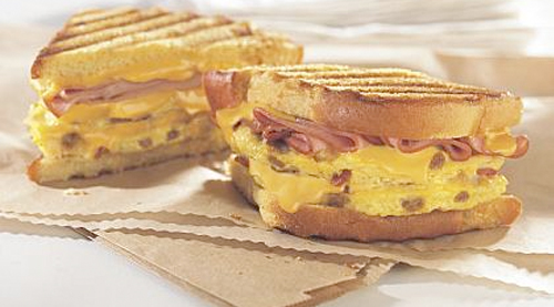 The Grand Slamwich - Over 1,300 Calories Of Goodness !