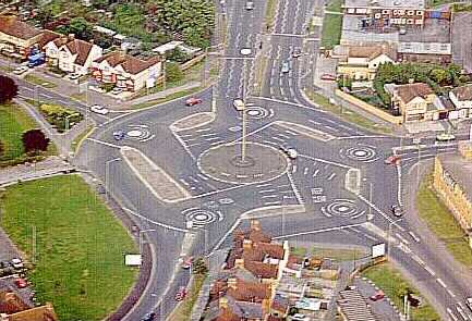 The Magic Roundabout - Swindon, Wiltshire, United Kingdom