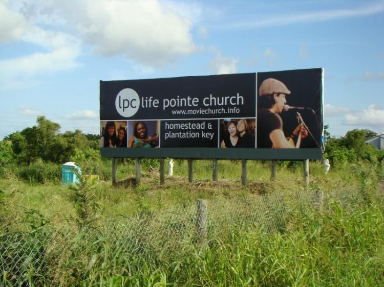 Life Pointe Church Billboard