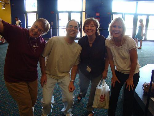 Nancy L., Chris D., Anne J., Kristina M. - 26 July 2009