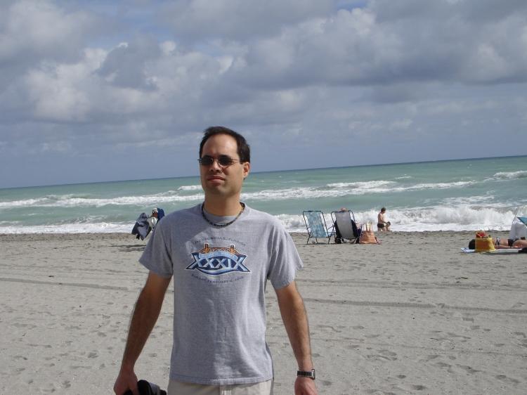 Chris At The Beach