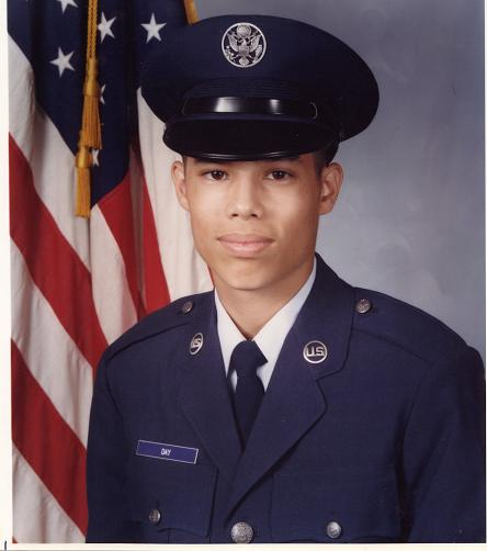 AB Chris At 18 At Lackland