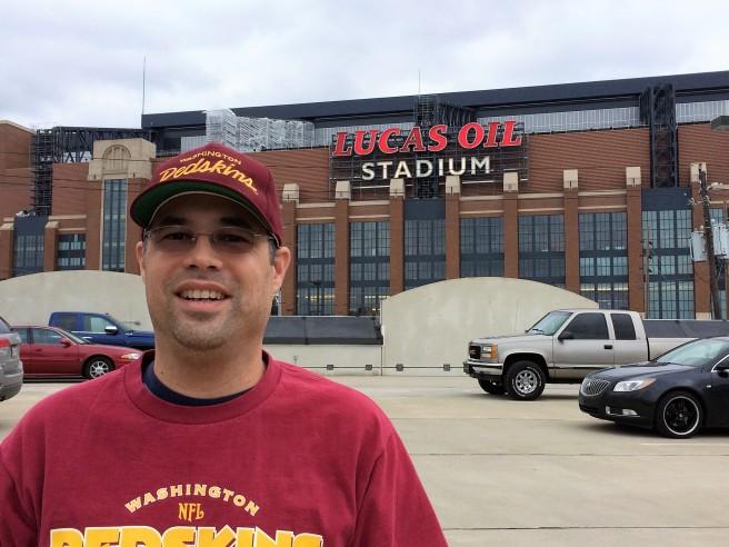 Me At Lucas Oil Stadium