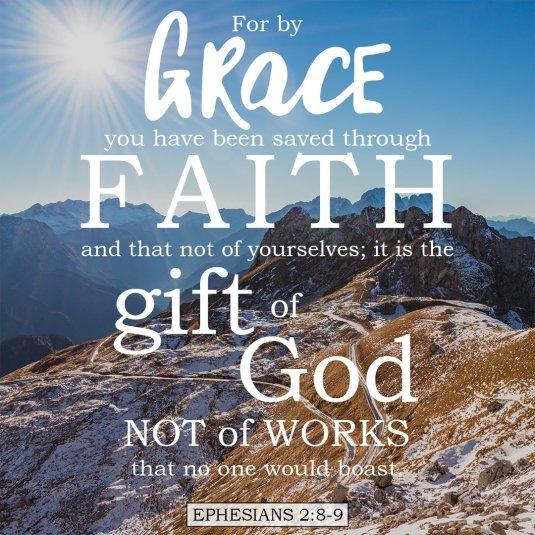 Ephesians 2-8-9