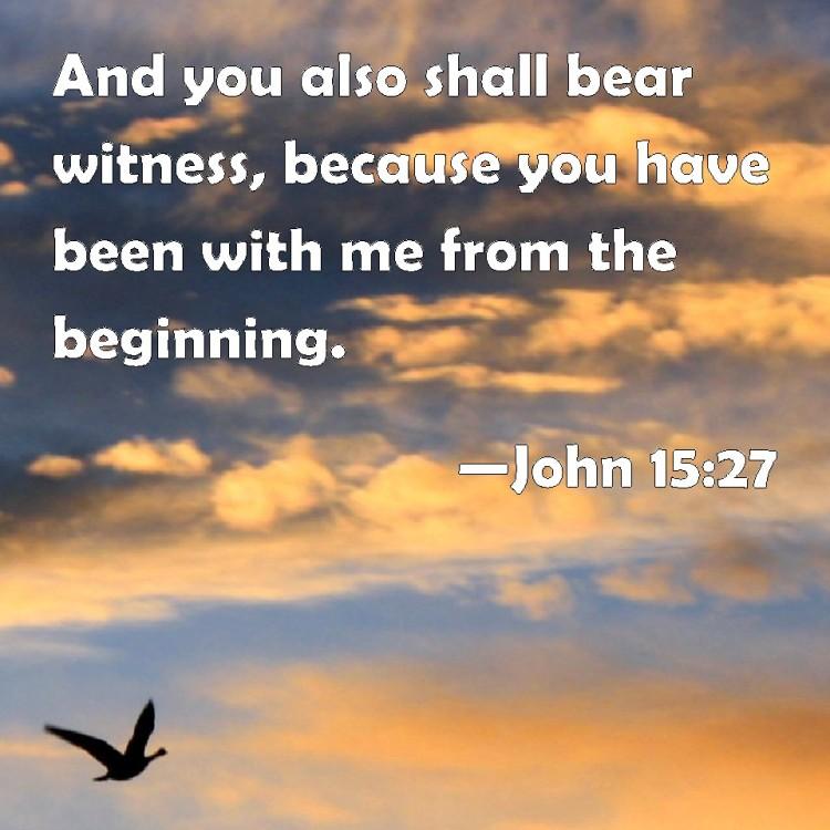 John 15-27