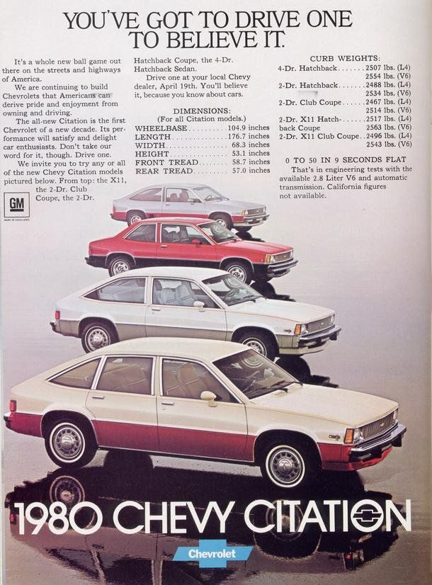 1980 Chevy Citation
